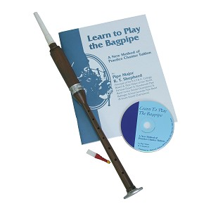 Roosebeck BAGL Sheesham Practice Chanter + Book and CD BAGL-BC