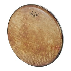 Remo 12 Inch Doumbek Head Skyndeep Clear Tone R Series Fish Skin Graphic