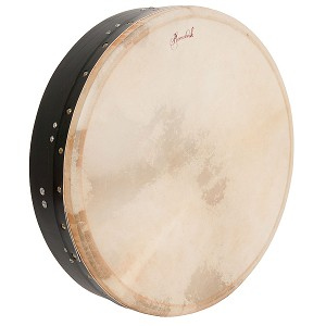 Roosebeck Tunable Mulberry Bodhran T Bar 18 x 4 Inch Black