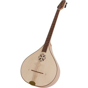 Roosebeck 37 Inch Irish Bouzouki 4 Course + Padded Gig Bag