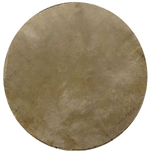 Mid-East 12 Inch Natural Calfskin Drum Head Thick CF12 TK