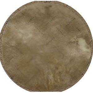 Mid-East 14 Inch Natural Calfskin Drum Head Thick