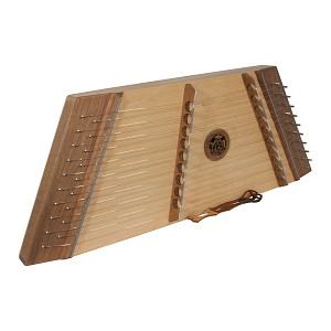 Roosebeck Hammered Dulcimer Walnut 10/9 Single Strung + Hammers