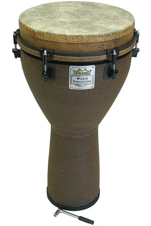 Remo 24 x 12 Inch Djembe Key Tuned Earth