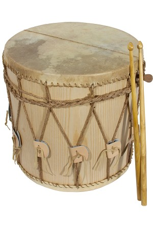 "Early Music Shop Designed Medieval Drum 13""x13 Inch DM13X13"