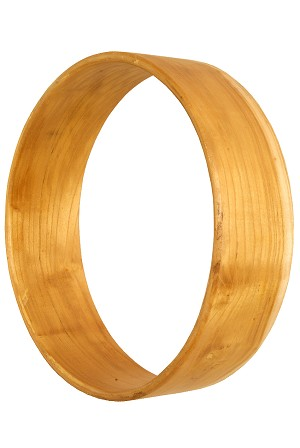 DOBANI 10 x 3 Inch Frame Drum Shell Mulberry 5/16 Inch Thick