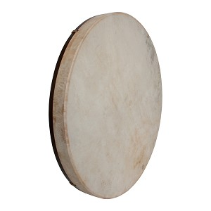 DOBANI 22 Inch Frame Drum Goatskin Head Mulberry + Beater