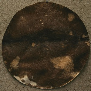 Mid-East 36 Inch Goatskin Drum Head Hair Medium