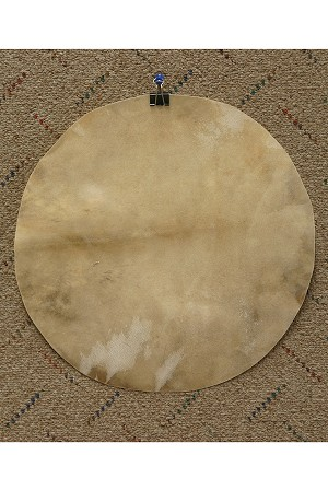 Mid-East Natural Goatskin Drum Head 12 Inch Thick