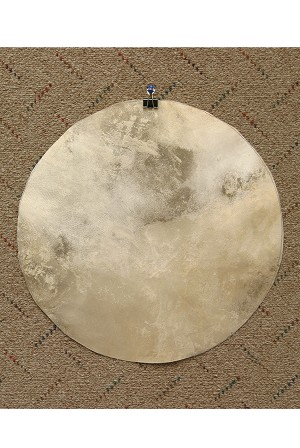 Mid-East Natural Goatskin Drum Head 14 Inch Thick