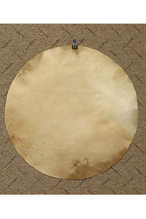 Mid-East Natural Goatskin Drum Head 18 Inch Thick