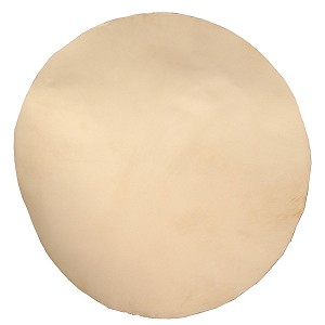 Mid-East Natural White Goatskin Head 18 Inch Thin