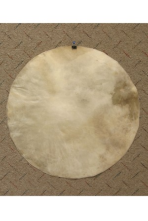 Mid-East Natural Goatskin Drum Head 22 Inch Thick