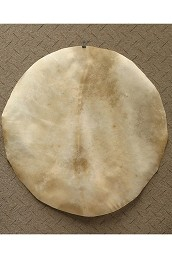 Mid-East Natural Goatskin Drum Head 36 Inch Thin