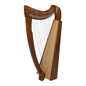 Roosebeck Heather Harp 22 String Natural + Extra String Set + Tuning Tool