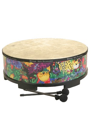 Remo Kids Percussion Gathering Drum 22 Inch - Rain Forest