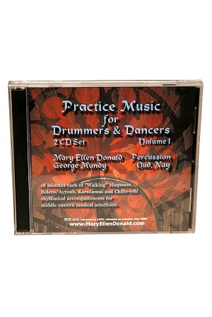 Middle Eastern Practice Music for Drum + Dance Volume 1