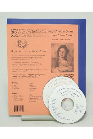 Middle Eastern Rhythms Advanced Series CD + Book #2