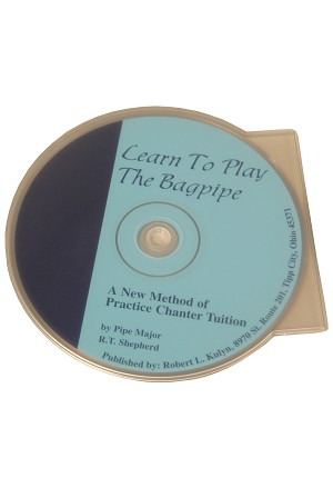 Learn to Play the Bagpipe Chanter CD RT Shepherd