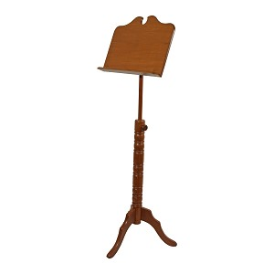 Roosebeck Music Stand Single Tray Boston Design Red Cedar