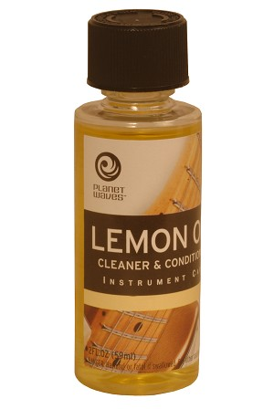D'Addario Acoustic Instrument Lemon Oil PW-LMN