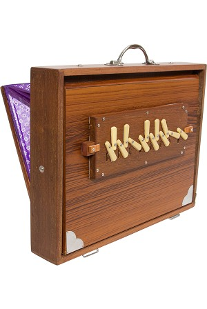 Monoj Kumar Sardar & Bros. Pro Shruti Box Side Controls 13 reed 3C-4C BLEMISHED