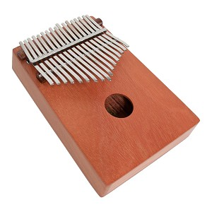 DOBANI Kalimba Thumb Piano 17 Key Tunable Red Cedar BLEMISHED
