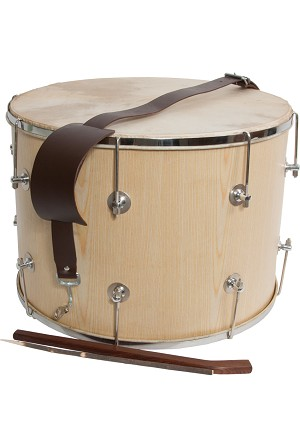 Mid-East 20 Inch Tupan Davul Drum Bolt Tune + Beaters